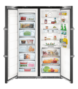 Liebherr SBSbs8683-20 Premium side by side Liebherr side by side fridge freezer